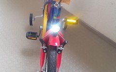 "Crazy 16"" Zoll Kinderrad mit Stützrädern"