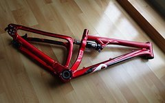 Specialized P Slope Rahmen Dirt Candy Red Selten RAR