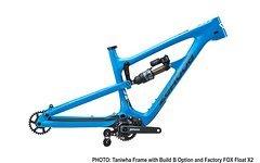 Zerode Taniwha PINION Rahmenset mit FOX Float X2 Blue *NEU*