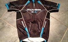 Rockrider Biketrikot schwarz Gr. S/M