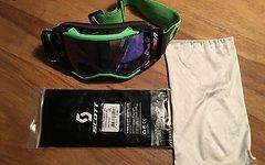 Scott Prospect Brille, grün, inklusive neuem Glas