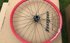 Specialized Laufrad vorne rot 20mm