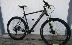 Cube LTD Race One 29 black'n'flashyellow / Rahmen 23""