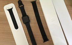 Apple Watch Sport 42mm, Space Grey, Sportband schwarz!