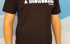 "Horse Feathers ""My God rids a snowboard"" Shirt Gr. S"