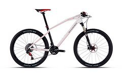 Mondraker Podium Pro Carbon, Gr. M, matt white - red - NEU UVP 3185,- €