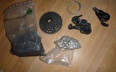SRAM X4 1*8 Schaltwerk, Shifter, Rizel, Ketten