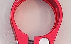 Aluminium Sattelklemme 34,9mm *rot* (für 31,x mm Stütze)