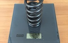 Sa Racing Springs Super Alloy Spring Lite DH 140mm Stahlfeder 400x3.00