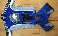 Assos Trikotset In Blau, Gr.m F1 Mille Serie