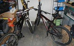 Specialized und Decathlon !zwei fahrräder! Downhill enduro cross country Fully