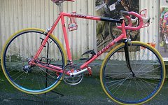 Bianchi , Straßenrennrad von BIANCHI , 18 Gang - Kette von SHIMANO - EXAGE