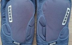 ION K Lite Zip Knie Knee Protektor Größe M grau
