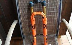 Fox 32 Step-Cast Float FIT4 Factory 27,5 Zoll Federgabel - 100mm - Tapered - 15x100mm Kabolt - 2017 - gloss orange