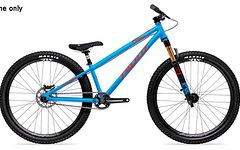 Pivot Point Dirtjump Pumptrack Rahmen Frame blau