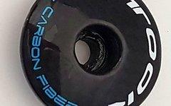 Carbon Ahead Cap / Steuersatz Kappe / A-Head 1-1/8 *blau*