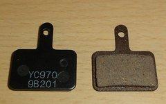 Tektro Bremsbeläge YC970 9B201 Bremsbeläge Scheibenbremse NEU Paar