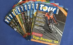 Tour rennrad magazin jahrgang 2009 komplett 12 hefte top zustand