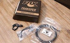 Fox 2018 Transfer Lever Assembly Preconfig: 2x/3x Rem Left/Right