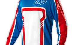 Troy Lee Designs GP JERSEY FACTORY BLUE Gr. XL