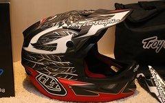 Troy Lee Designs D3 Nightfall Fullface Helm XL *NEU*
