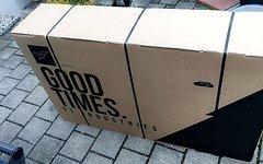 YT Industries Versand Verpackungs Box / Material