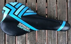 Superstar Components Sattel Blau/Schwarz