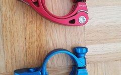 Canyon Clinger Sattelklemme 34,9mm blau oder rot