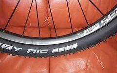 Bergamont / Alexrims 27,5 Plus Boost Laufradsatz mit Schwalbe Reifen