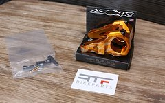 Azonic Club Stem 31,8mm Direct Mount Orange *NEU*