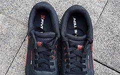 Five Ten Freerider Pro schwarz rot EU 46 UK 11 US 12 // Schuhe Shoes Stealth Freeride 5.10