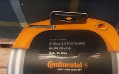 "Continetal X-King Protection 26X2,4"" Faltreifen org. Verpackung"