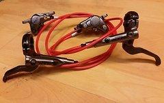 Shimano XTR BR-M9000 Bremse mit Jagwire und Koolstop