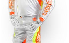 Troy Lee Designs SE PRO CORSE SET WHITE/ORANGE Gr. 32/M Neu!