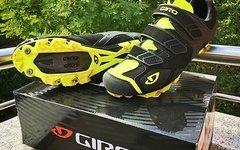 Giro Carbide MTB Schuhe Größe EU46 in Black/Highlight Yellow