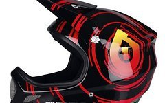 661 SixSixOne EVO Inspiral Black/Red XL