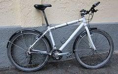 Chaka Mountainbike mit Starrgabel, weiss