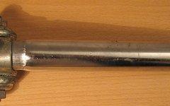 Diamant Sattelstütze 24,0 mm für DDR-Räder / alte Rennräder