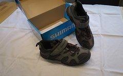 Shimano SH-MT43G SPD MTB Schuhe gray/red Gr.40 (39)