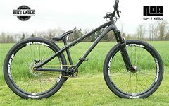 Dartmoor Two6 Player schwarz matt Custom Dirt / Street Pumptrack-Bike Rock Shox Pike DJ,e*Spank ,Sram,Chromag,VEE,Noa-Bl-Evo