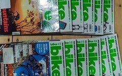 Über 180 Bike Zeitschriften Bike Magazin, Mountain Bike Magazin