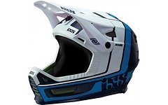 IXS XULT Enduro/DH Fullface Helm Größe M/L blau/weiss