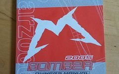 Marzocchi Bomber Owners Manual 2005