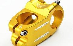 Aluminium Vorbau 40mm *gold* (31,8mm Lenker / 28,6mm Gabelschaft)