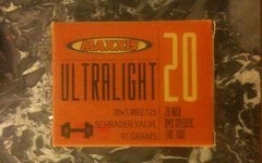"Maxxis Ultralight 20"" BMX Tube 97 Grams"