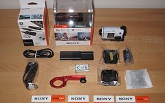Sony HDR AS 200 V mit Zubehör u. Restgarantie