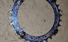 Raceface NW Kettenblatt 30 blau LK 104mm