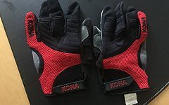 Kona Supreme Handschuhe Gloves M Rot