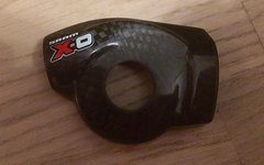 SRAM X0 Deckel - Kappe aus Carbon