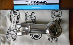 Thomson 90mm, 10°, silber, 31,8, silber